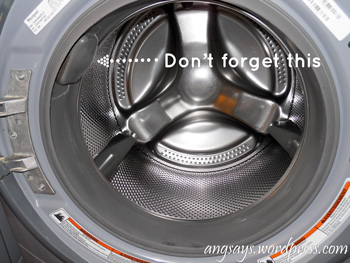 Clean Washer