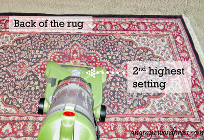 Vacuuming Rugs Properly
