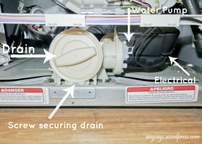 unclog washer drain