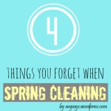 4 Things You Forget When Spring Cleaning Your House