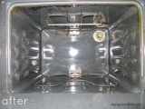 Remove Cooked on Grease: The Oven