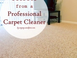 Secrets from a Professional Carpet Cleaner