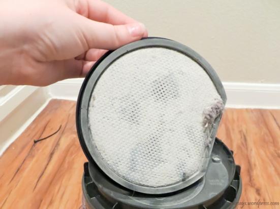 Clean Dirty Vacuum Filter