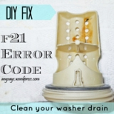 Fix the F21 Code- Unclog the WasherDrain