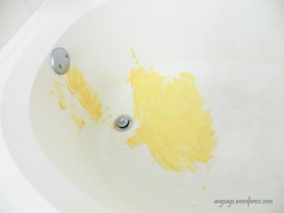orange scrub cleaner