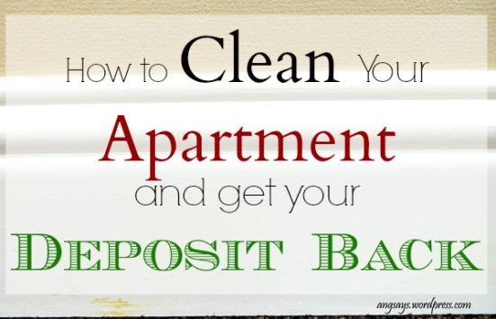 Cleaning an Apartment