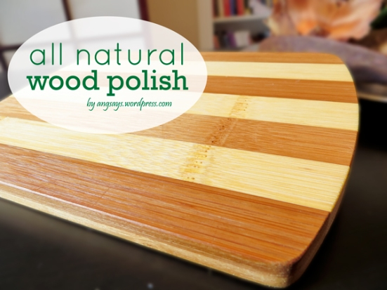 All Natural Wood Polish
