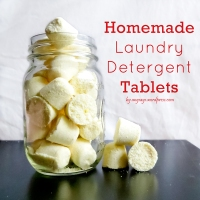 Homemade Laundry Soap Tablets