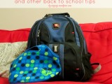 How to Wash a Backpack & Other Back to SchoolTips