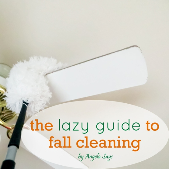 Free Fall Cleaning List