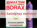 How to Remove Hairspray {From AlmostEverything!}