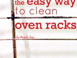 The Easy Way to Clean OvenRacks