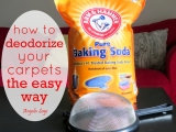 How to Deodorize Your Carpets the EasyWay