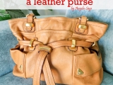 How to Clean a LeatherPurse