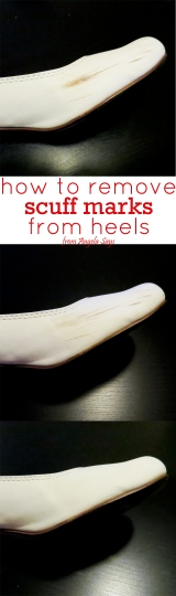 How to Remove Scuff Marks from Heels