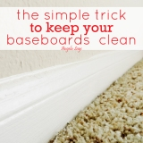 The Simple Trick to Keep Your BaseboardsClean