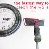 The Fastest Way to CleanWalls