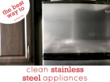 The Best Way to Clean Stainless SteelAppliances