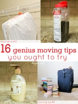 16 Genius Moving Tips You Ought toTry
