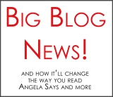 Big Blog Changing News!